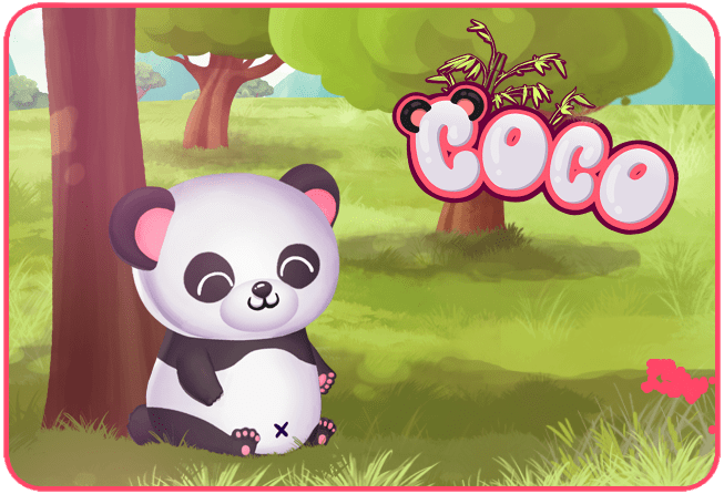 My Panda Coco Videogame Image